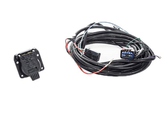 2004 Ram 1500 Trailer Tow Wiring Harness Kit  With 7