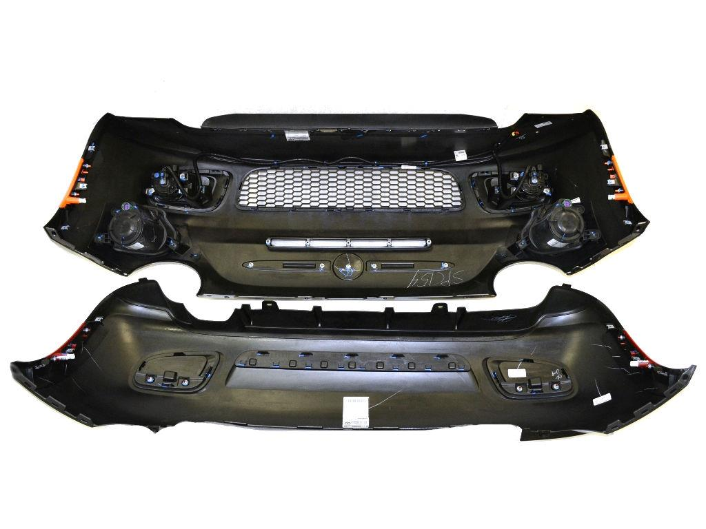 2013 Fiat 500 Front And Rear Fascia Kit  Sport Model